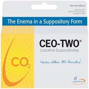 Beutlich Ceo-Two® Laxative Suppositories Box 0283-0808-36 By Beutlich Lp Pharmac