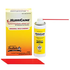 Beutlich Hurricaine® Topical Anesthetic Each 0283-0679-60 by Beutlich LP Pharmac