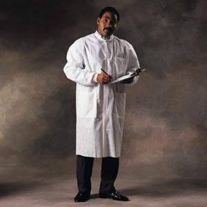 Halyard Basic Lab Coat Case 10021 by Halyard Health