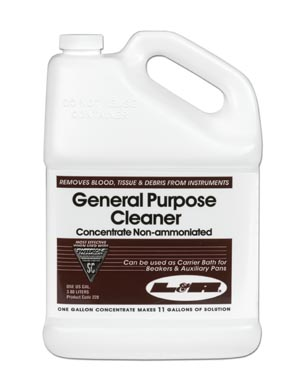 L&R General Purpose Cleaner Concentrate - Non Ammoniated Case 228 by L&R Manufac