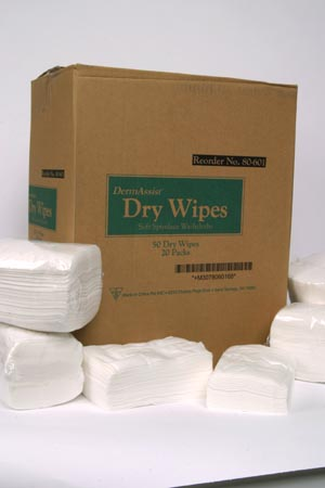 Innovative Dermassist® Dry Wipes Case 80-601 by Innovative Healthcare