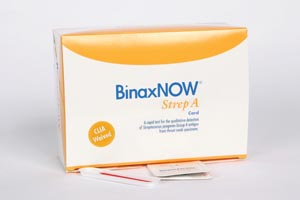 Alere Poc Binaxnow� Strep A 730-025 One Kit