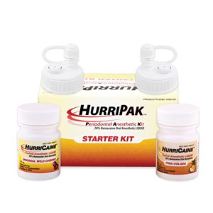 Beutlich Hurripak Periodontal Anesthetic Starter Kit Kit 0283-1009-09 by Beutlic