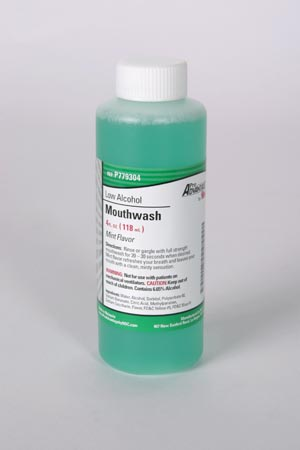Low Alcohol Mouthwash,  4 oz, 60/cs