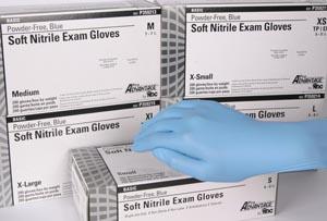 Nitrile Exam Gloves, Large, 200/bx, 10 bx/cs