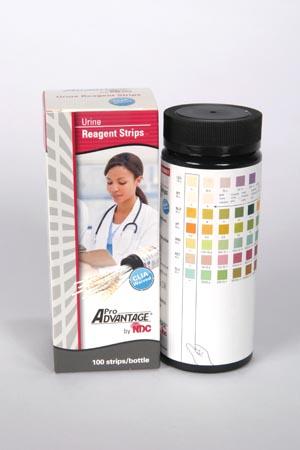 Urine Reagent Strips, 7 Parameter, Leukocytes, Nitrite, Protein, pH, Blood, Ketone, Glucose, CLIA Waived, 100/btl