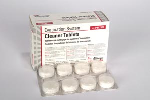 Evacuation System Cleaner Tablets, 32/bx