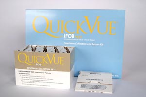 Quidel Quickvue® Ifob Test Kit Kit 20204 by Quidel