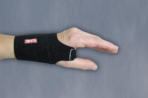 3 Point Products Wrist Wrap Each P3008-23Bk By 3 Point Products
