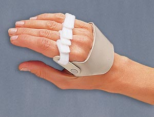 3 Point Products Radial Hinged Ulnar Deviation Arthritis Splints Each P2003-L2 B