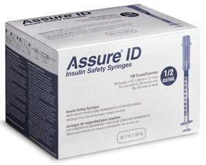 Arkray Assure® Id Insulin Safety Syringes Case 210295 By Arkray USA