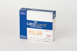 Aso Careband Sheer Adhesive Strip Bandages Case CBD2760 by ASO