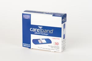 Aso Careband Blue Metal Detectable Bandage Case CBD4433-024 by ASO