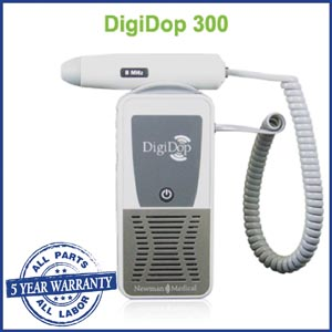Newman Digidop Handheld Doppler Probes Box DD-300-D5 by Newman Medical