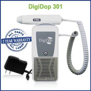 Newman Digidop Handheld Doppler Probes Box DD-301-D5 by Newman Medical