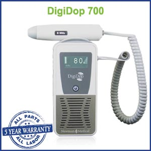 Newman Digidop Handheld Doppler Probes Box DD-700-D5 by Newman Medical