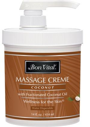 Hygenic/Performance Health Bon Vital® Coconut Massage Cr�me Each BVCOC14Z by Hyg