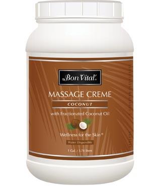 Hygenic/Performance Health Bon Vital® Coconut Massage Cr�me Case BVCOC1G by Hyge