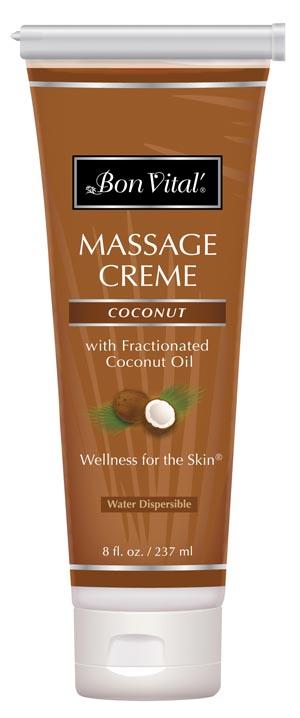 Hygenic/Performance Health Bon Vital® Coconut Massage Cr�me Case BVCOC8ZT by Hyg