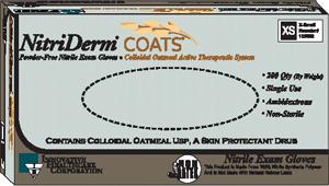 Innovative Nitriderm� Coats Powder-Free Nitrile Exam Gloves Case 125052 By Innov