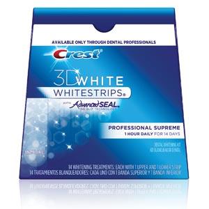 3D WHITESTRIPS W/AdvancedSeal