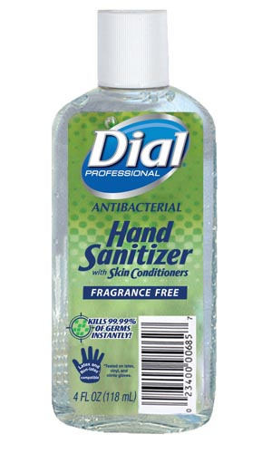 Dial® Antibacterial Hand Sanitizer Case 00685 by Dial