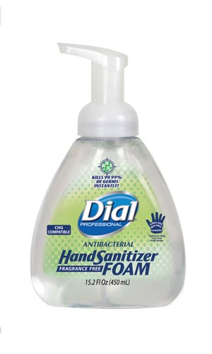 Dial® Antibacterial Hand Sanitizer Case 06040 by Dial