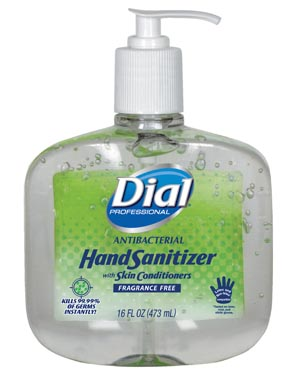 Dial® Antibacterial Hand Sanitizer Case 00213 by Dial