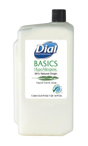Dial® Basics Liquid & Foam Soap Case 06046 by Dial