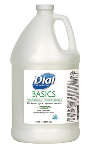 Dial® Basics Liquid & Foam Soap Case 06047 by Dial
