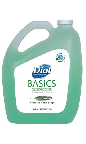 Dial® Basics Liquid & Foam Soap Case 98612 by Dial