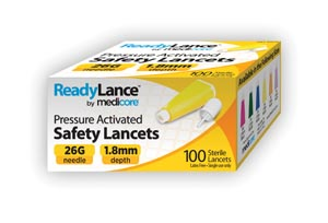 Medicore Lancets & Accessories Box 804 by Medicore Medical Supply