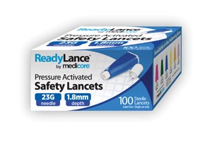 Medicore Lancets & Accessories Box 805 by Medicore Medical Supply