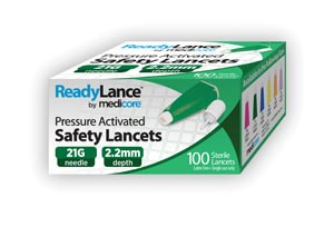 Medicore Lancets & Accessories Box 806 by Medicore Medical Supply