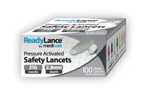Medicore Lancets & Accessories Box 808 by Medicore Medical Supply