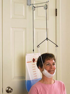 Therapeutic C-Trax Overdoor Cervical Traction Each SCTRAX by Therapeutic Dimensi