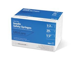 Ultimed Ulticare Insulin Fixed Needle Safety Syringes Box 03259 by UltiMed RX IT