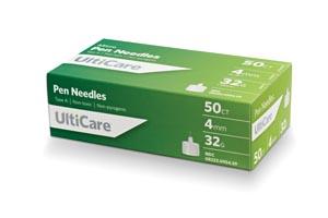 Ultimed Ulticare Pen Needles Box 9545 By Ultimed