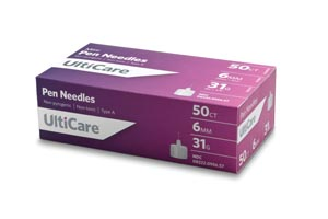 Ultimed Ulticare Pen Needles Box 9565 by UltiMed