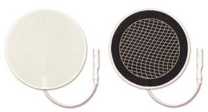 "Foam Electrode, 2"" Round, 4/pk, 10 pk/bg"