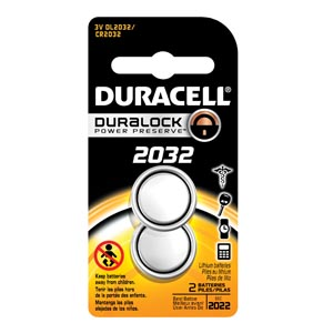 Duracell� Medical Electronic Battery Box Dl2032B2Pack By Duracell