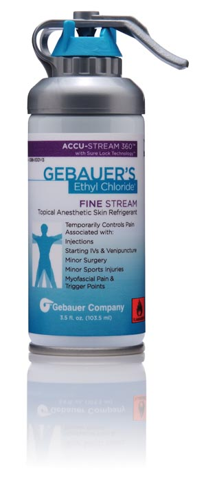 Gebauer Ethyl Chloride� DZ 0386-0001-13 By Gebauer Company-Rx Item-