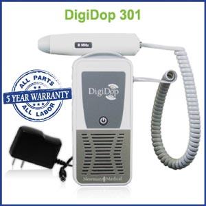 Newman Digidop Handheld Doppler Probes Box DD-301-D8 by Newman Medical