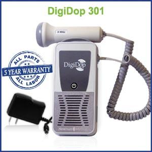 Newman Digidop Handheld Doppler Probes Box DD-301-D2 by Newman Medical