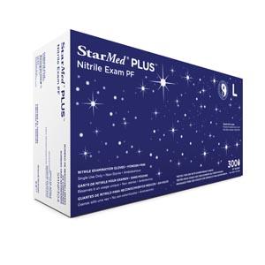 SEMPERMED STARMED PLUS NITRILE EXAM GLOVE: preorder SEM SMNP302 cs                                      $150.41 Stocked