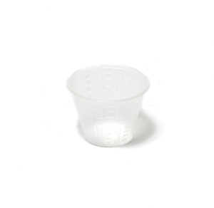 Medicine Cup, 1 oz, Polypropylene, Metric Measurements Only, 100/slv, 50 slv/cs