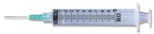 BD 10 Ml Syringes & Needles Case 305064 by BD
