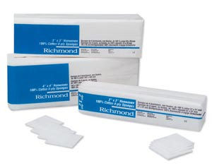 Richmond Cotton Non-Woven Sponges Case 300631 by Richmond Dental