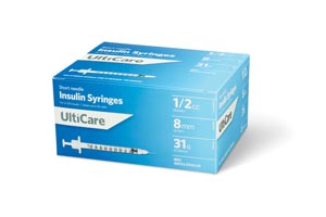 Ultimed Ulticare Insulin Syringes Box 9459 by UltiMed
