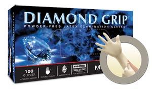 Microflex Diamond Grip Powder-Free Latex Exam Gloves  Mf-300-L By Microflex Item No.: Mp-Mfc Mf-300-L Category: Gloves:Latex:Powder-Free Exam Item Description: Exam Gloves, Powder Free Latex, Text